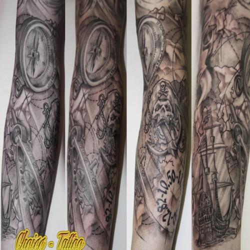 Map Tattoo 1