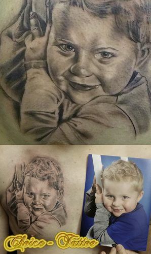 Portrait Tattoo 1